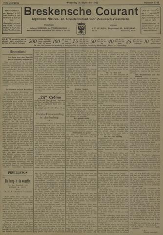 Breskensche Courant 1932-09-21