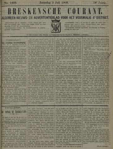 Breskensche Courant 1909-07-03