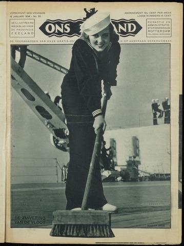 Ons Zeeland / Zeeuwsche editie 1934-01-12