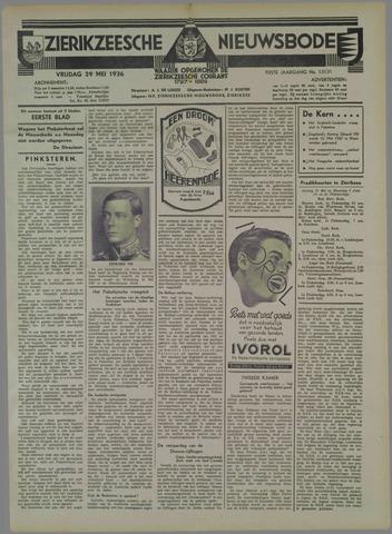 Zierikzeesche Nieuwsbode 1936-05-29