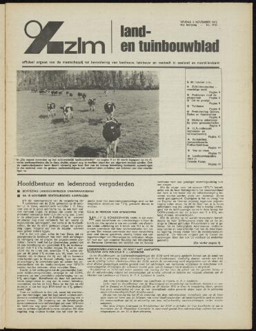 Zeeuwsch landbouwblad ... ZLM land- en tuinbouwblad 1972-11-03