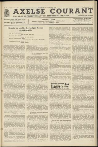 Axelsche Courant 1960-02-20