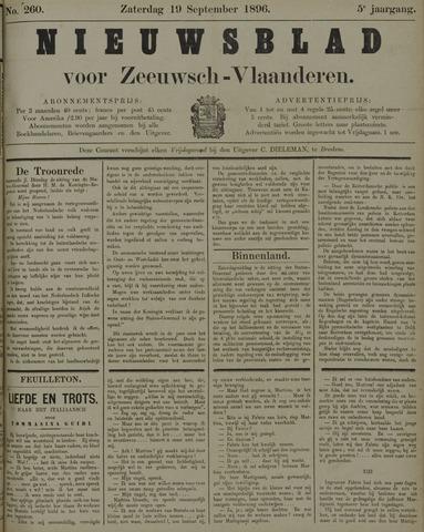 Nieuwsblad voor Zeeuwsch-Vlaanderen 1896-09-19
