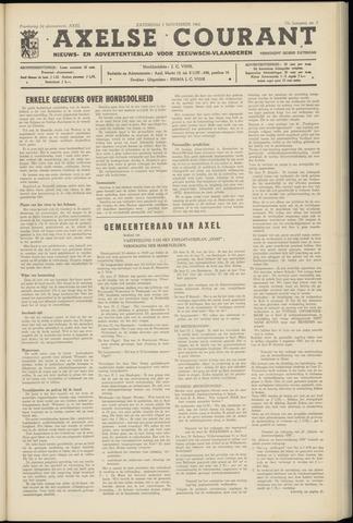 Axelsche Courant 1962-11-03