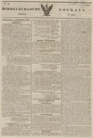 Middelburgsche Courant 1844-04-30