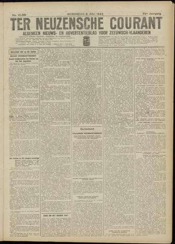 Ter Neuzensche Courant. Algemeen Nieuws- en Advertentieblad voor Zeeuwsch-Vlaanderen / Neuzensche Courant ... (idem) / (Algemeen) nieuws en advertentieblad voor Zeeuwsch-Vlaanderen 1942-07-08