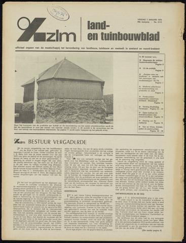 Zeeuwsch landbouwblad ... ZLM land- en tuinbouwblad 1972-01-07