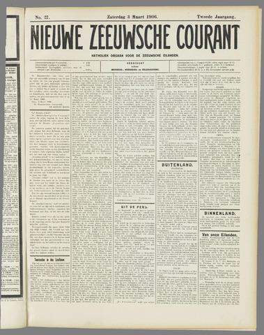 Nieuwe Zeeuwsche Courant 1906-03-03