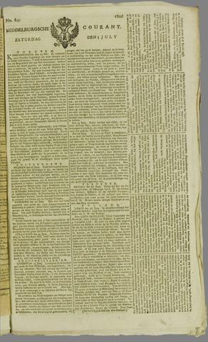 Middelburgsche Courant 1806-07-05