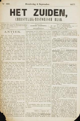 Het Zuiden, Christelijk-historisch blad 1877-09-06