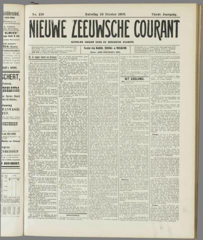 Nieuwe Zeeuwsche Courant 1908-10-10