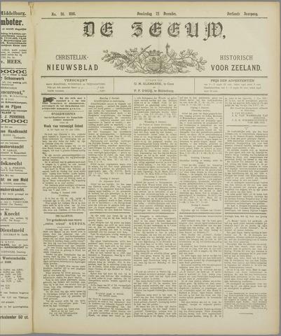 De Zeeuw. Christelijk-historisch nieuwsblad voor Zeeland 1898-12-22