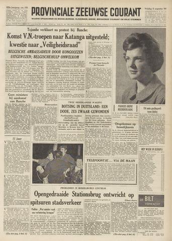 Provinciale Zeeuwse Courant 1960-08-05