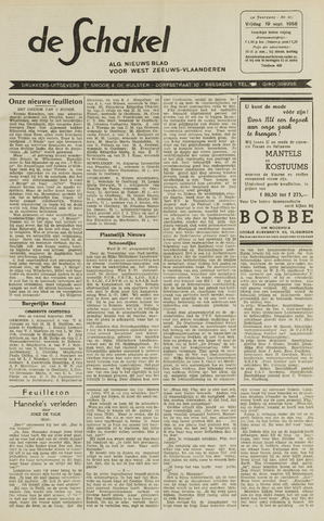 De Schakel 1958-09-19