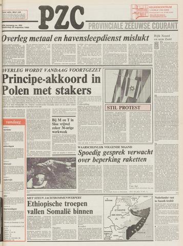 Provinciale Zeeuwse Courant 1980-08-28