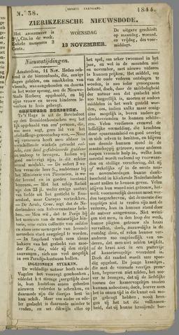 Zierikzeesche Nieuwsbode 1844-11-13