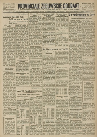 Provinciale Zeeuwse Courant 1947-05-19