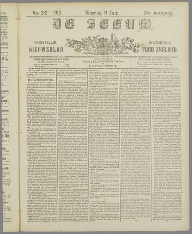 De Zeeuw. Christelijk-historisch nieuwsblad voor Zeeland 1912-06-11