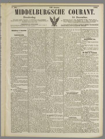 Middelburgsche Courant 1905-12-14