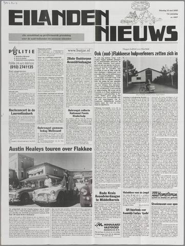Eilanden-nieuws. Christelijk streekblad op gereformeerde grondslag 2000-05-23