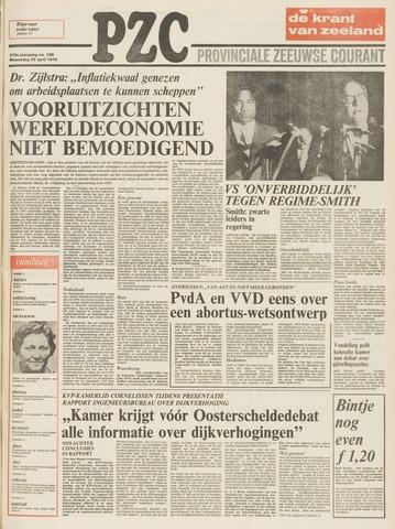 Provinciale Zeeuwse Courant 1976-04-28