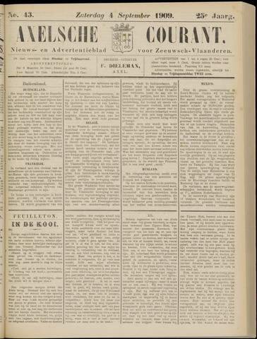 Axelsche Courant 1909-09-04