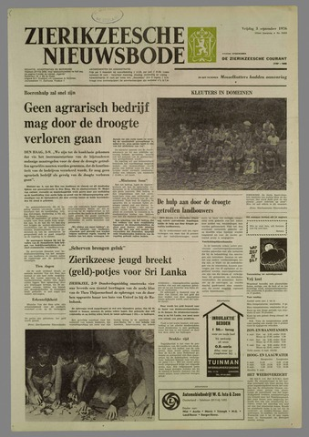 Zierikzeesche Nieuwsbode 1976-09-03
