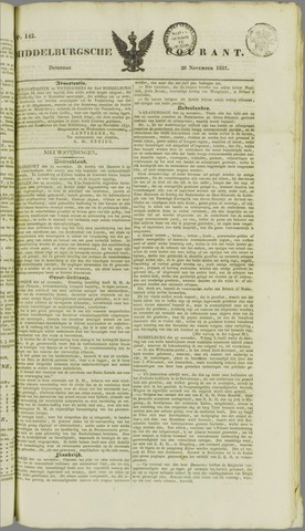 Middelburgsche Courant 1837-11-28