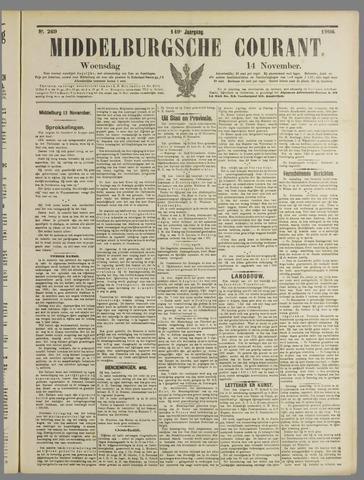 Middelburgsche Courant 1906-11-14