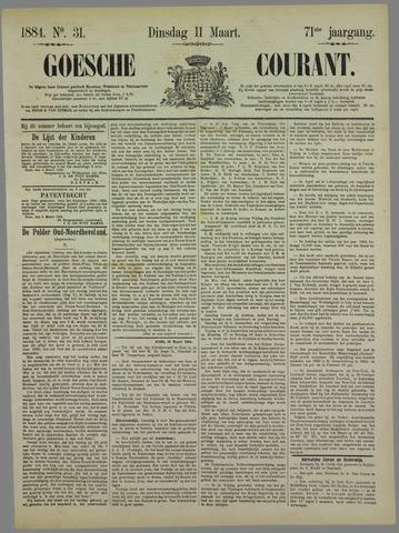 Goessche Courant 1884-03-11