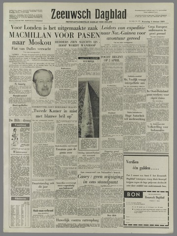 Zeeuwsch Dagblad 1959-02-04