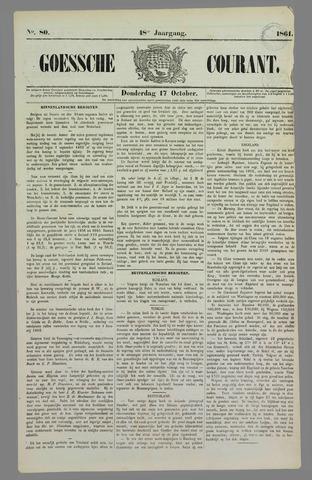 Goessche Courant 1861-10-17