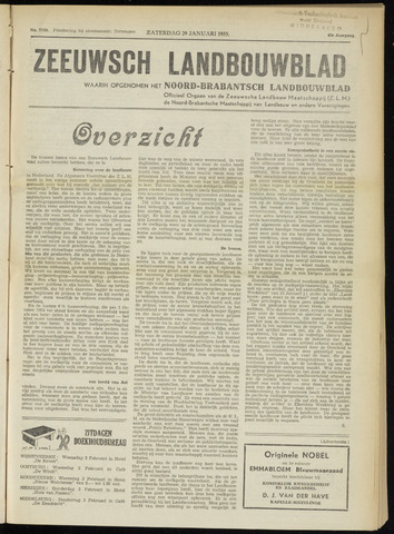 Zeeuwsch landbouwblad ... ZLM land- en tuinbouwblad 1955-01-29