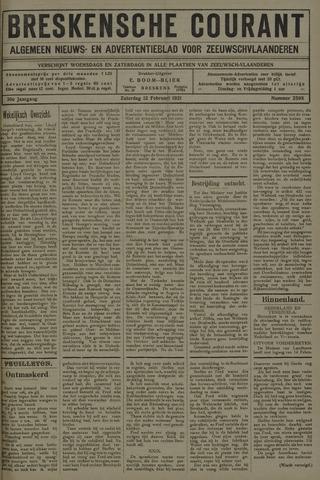 Breskensche Courant 1921-02-12