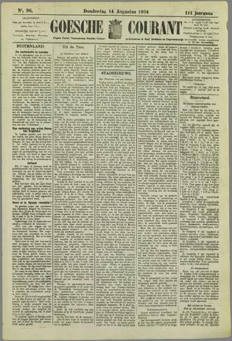 Goessche Courant 1924-08-14
