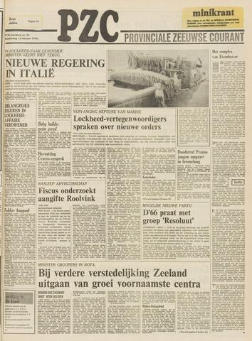 Provinciale Zeeuwse Courant 1976-02-12