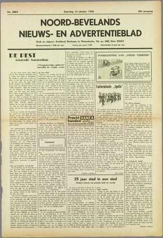 Noord-Bevelands Nieuws- en advertentieblad 1956-10-13