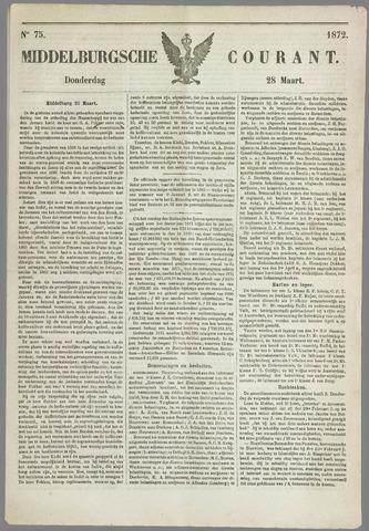 Middelburgsche Courant 1872-03-28