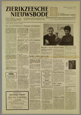 Zierikzeesche Nieuwsbode 1970-02-23