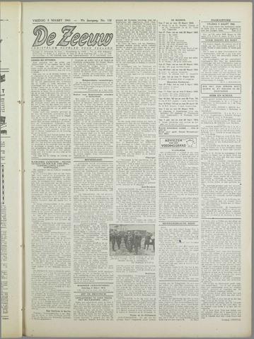 De Zeeuw. Christelijk-historisch nieuwsblad voor Zeeland 1943-03-05