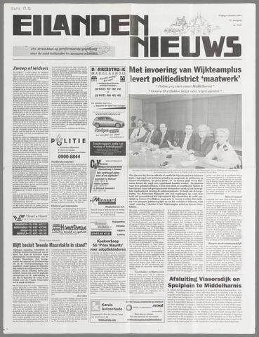 Eilanden-nieuws. Christelijk streekblad op gereformeerde grondslag 2004-10-08