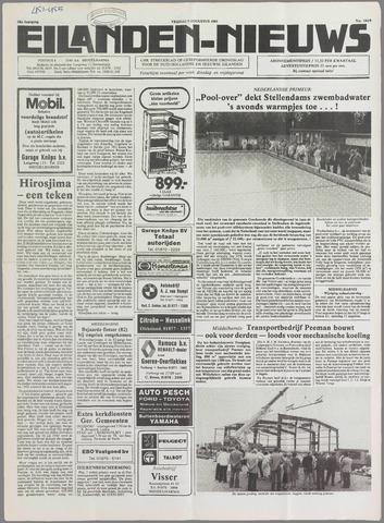 Eilanden-nieuws. Christelijk streekblad op gereformeerde grondslag 1985-08-09