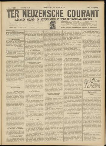 Ter Neuzensche Courant. Algemeen Nieuws- en Advertentieblad voor Zeeuwsch-Vlaanderen / Neuzensche Courant ... (idem) / (Algemeen) nieuws en advertentieblad voor Zeeuwsch-Vlaanderen 1936-06-15