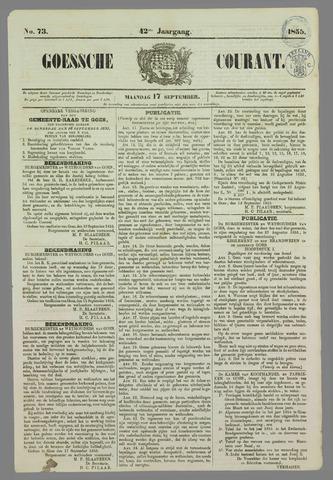 Goessche Courant 1855-09-17