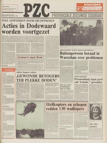 Provinciale Zeeuwse Courant 1981-09-21