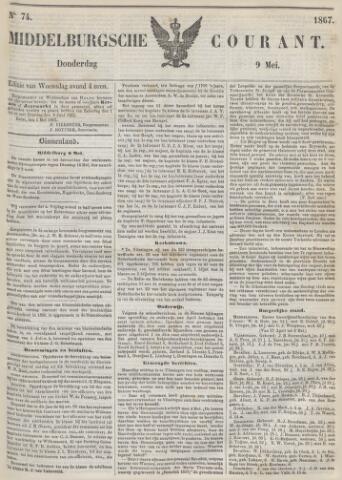 Middelburgsche Courant 1867-05-09