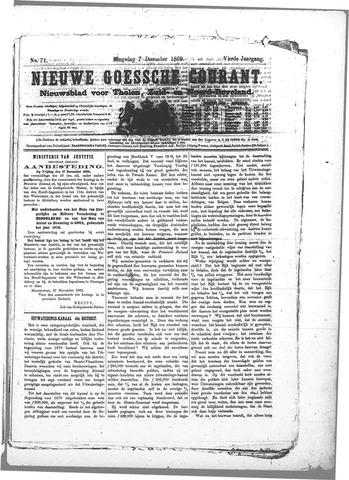 Nieuwe Goessche Courant 1869-12-07