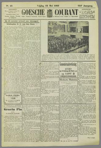 Goessche Courant 1927-05-13