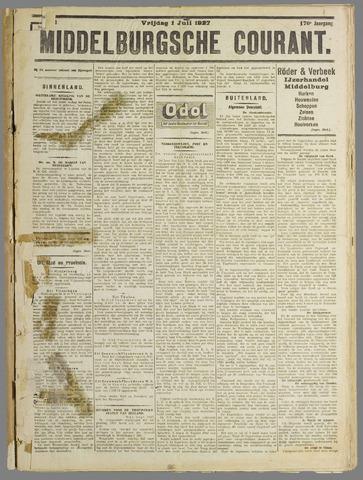 Middelburgsche Courant 1927-07-01