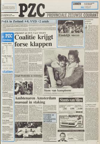 Provinciale Zeeuwse Courant 1987-03-19